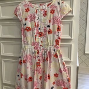 Girls floral Cap sleeve dress